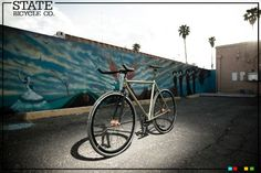 State Bicycle Co. - Sultan Fixed Gear Bike, $429.00 #fixedgear #fixiebike #fixie #bike #statebicycleco #deal #shop #cycle