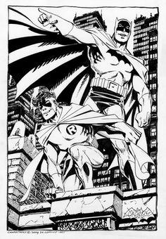 Batman & Robin by John Byrne