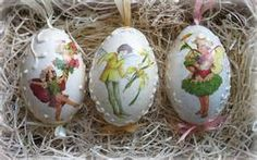 decoupage eggs - Bing images