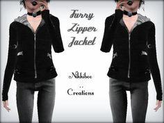 XxNikkibooxX's Furry Zipper Jacket (Maternity Clothing friendly)