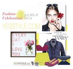 """YESSTYLE Fashion Celebration"" by una21una ❤ liked on Polyvore"