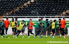 Last training before against Galatasaray