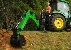 Deere backhoe attachment