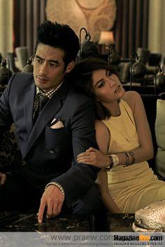 Thai Actor Boy Pakorn and Thai/Spanish Actress Margie Rasee