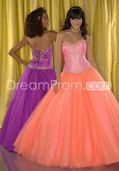 Gorgeous Ball Gown Sweetheart Floor-Length Quinceanera Dresses