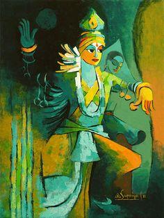 Manipuri dancer by Supriya Karkhanis