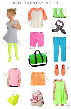 MINI TRENDS: NEON | Hellobee