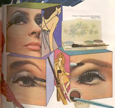 omm vintage: Pretty 60s Makeup Inspiration!