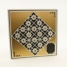 Blog Tonic: Tonic Studios Simply Screen Moroccan Mosaic and Honeycomb Die Sets - Karen