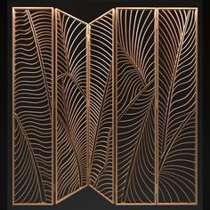 models: Other decorative objects - Decorative partition Booth Design, Art Deco Design, Window Grill Design Modern, Jaali Design, Cnc Cutting Design, Partition Design, Metal Screen, Interior Stairs, Stage Decorations