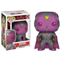 Get this adorable version of the newest member of The Avengers from Avengers: Age Of Ultron movie. Collect all the Avengers Pop figures from this movie. - Includes window display box - It bobbles! - 3