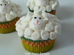 Mrs. Fox's Sweets: Sheep Cupcakes