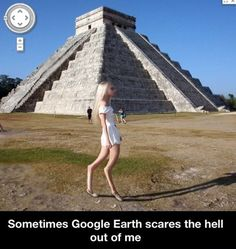 Scary Google earth // funny pictures - funny photos - funny images - funny pics - funny quotes - #lol #humor #funnypictures