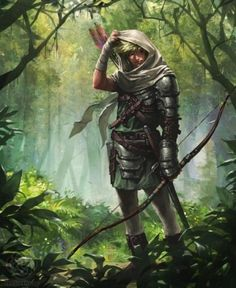 Male ranger forest fantasy character idea Dungeons and Dragons Dark Fantasy, Fantasy Concept Art, Fantasy Character Design, Fantasy Artwork, Character Concept, Character Inspiration, Character Art, Fantasy Warrior, Fantasy Male