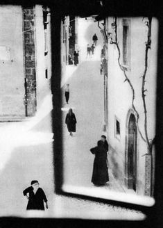 "I admit to wishing there was a Tardis tucked in this photo somehow.    Mario Giacomelli, From the series ""The Village"", 1958"