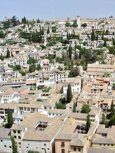 Albaicín, Granada, Spain (by chogori20)