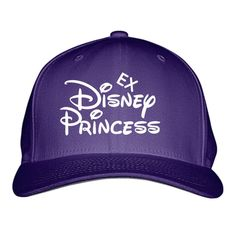 Ex Disney Princess Embroidered Baseball Cap