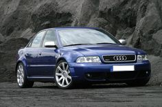 B5 S4 with RS4 wheels and RS4 front bumper.  Clean!