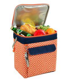 Orange Diamond Multi-Purpose Cooler