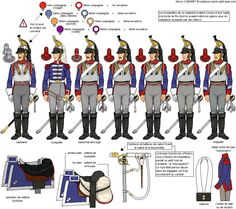 1st Curassiers, centre squadrons