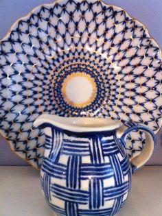 Polish pottery meets Russian china