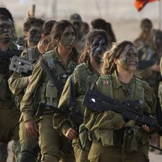 Israeli Women in Combat | Women In Combat: Some Lessons From Israel's Military | NCPR News from ...