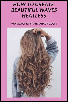 Are you looking to curl or wave your hair without causing your hair some damage? Why not try these amazing tips on how to create heatless waves/curls overnight DIY! #heatlesscurls #heatlesswaves #curlyhair #wavyhairstyles #howtocurlyourhair