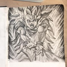 Super Sayian III Goku -  Dragon Ball Z