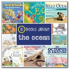 10 books about the ocean (for kids) - Gift of Curiosity - Create your own Ocean Unit, using the books as some of your text