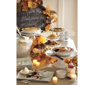 Another idea for a Thanksgiving tablescape