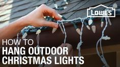 Get your house looking merry and bright! We'll show you how to hang Christmas lights with these easy lighting tricks.