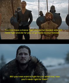 """6.09 """"Battle of the Bastards"""" – Beyond this specific scene, the entire episode strengthened the thematic connection between Dany and Jon."""