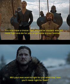Game of Thrones - Tyrion Lannister & Jon Snow