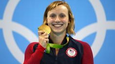 Katie Ledecky won 4 gold medals but can't have a free waffle maker