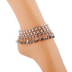 Vintage 2 in 1 Silver Bohemian Anklet/bracelet For Women – The Cynical Clique
