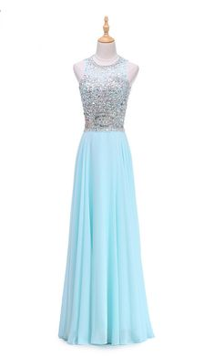 New Arrial Vintage Evening Dresses Aqua Blue Long Evening Dress Crystal Top Robe Prom Dress Prom Dress Unique Prom Dresses, Black Prom Dresses, Homecoming Dresses, Sexy Dresses, Beautiful Dresses, Evening Dresses, Fashion Dresses, Girls Dresses, Prom Gowns