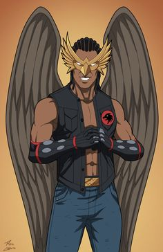 Hawkboy (Earth-27) commission by phil-cho on DeviantArt