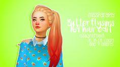 pxelbean:  Butterflysims 164 hair Edit (Retexture)