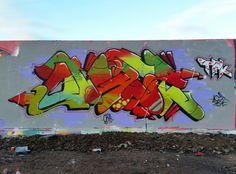 First of 2016! #aset #graffiti #pintgraff #sprayart #art