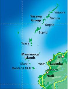 Cruising the Yasawa and Mamanuca Islands - FIJI Shores and Marinas