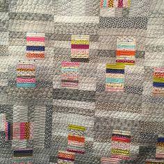 Mochi by Natalie Barnes of Beyond the Reef Patterns - @beyondthereefpatterns. The fabrics are Jen Kingwell's Lollies and Behind the Scenes - @jenkingwell. #ModaFabrics #ShowMeTheModa #modagoestomarket