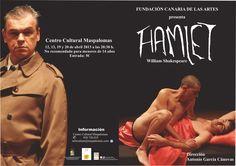 Hoy, lunes 8 de abril, se ponen a la venta, en el Centro Cultural de Maspalomas, las entradas para la representación teatral de 'Hamlet, que nunca fue Rey de Dinamarca'. El precio de las entradas es de 5 euros.