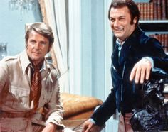 The Persuaders, Roger Moore, Tony Curtis, male actors, great guys, tv series, dear memories, photo, books.