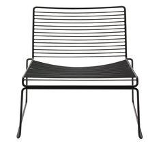 Hee Lounge Chair von Hay in der Variante schwarz