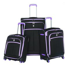Olympia O-Tron 3Pc Luggage Set * Want to know more, click on the image.