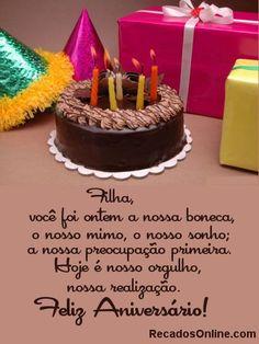 poema pra filha   Aniversário de Filha - Mensagens e Recados para Facebook