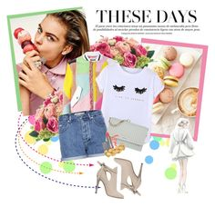 """""""S W E E T"""" by natural-cloe ❤ liked on Polyvore featuring INC International Concepts, Chicnova Fashion, Calvin Klein Jeans, DKNY, LORAC and Jimmy Choo"""