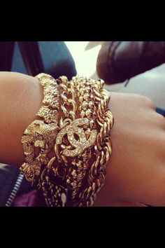 Chanel arm candy! Yes please.