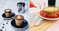 Instagram Coffee Cones