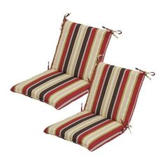 Hampton Bay Montigo Welted Dining Outdoor Chair Cushion JE15063C 9D6   The Home  Depot | Wish List | Pinterest